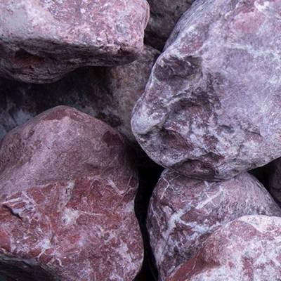 Rouge Royal | Steinschlag | Marmor | Naturstein | Rot | Gartengestaltung | Kies