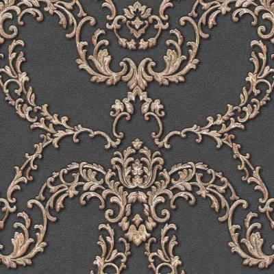 A.S. Creation Luxury Classics | 347772 | Vliestapete Vintage | 0.53 m x 10.05 m | Silber