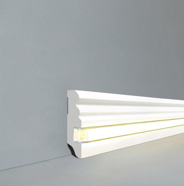 Licht - Fußleisten / Licht - Sockelleisten ´´Dü...