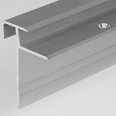 "Laminat-Treppenkante ""Lively"" / Winkelprofil, Einfasshöhe 8,5 mm, 33 mm breit, Aluminium eloxiert,"