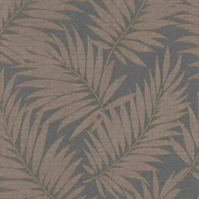 Rasch BARBARA Home Collection | 527575 | Vliestapete Blumen | 0.53 m x 10.05 m | Gelb