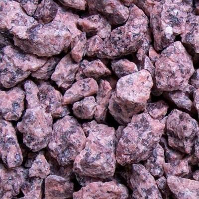 Irischer Granit Splitt   Edelsplitt   Granit   Naturstein   Rot   Garten Steine