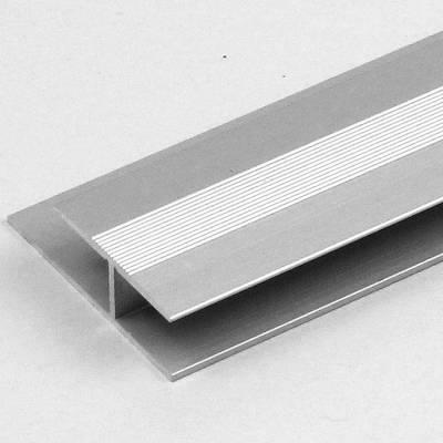 """Übergangsprofil / Übergangsschiene Laminat """"Madoc"""", 8,3 mm Einfassung, 27 mm breit, Alu eloxiert"""