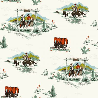 Rasch Textil Everybody Bonjour | 128717 | Vliestapete Muster & Motive | 0.53 m x 10.05 m | Bunt