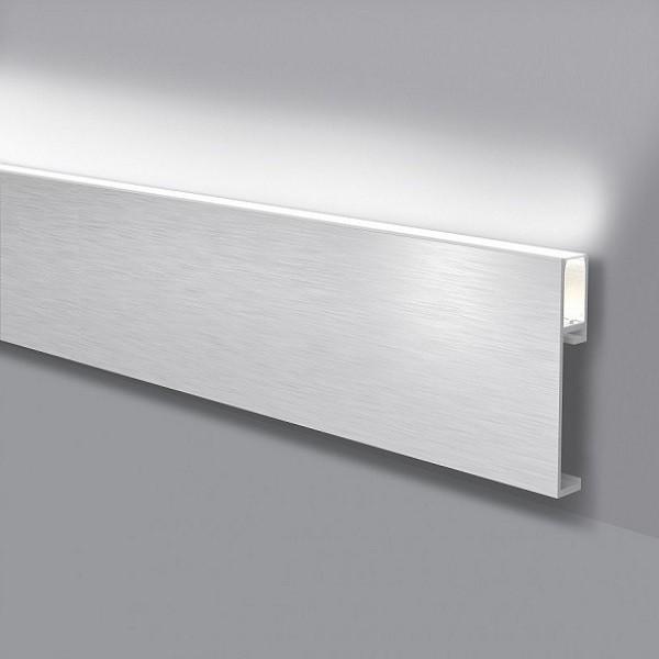 LED Licht-Fußbodenleistenrahmen aus Aluminium f...