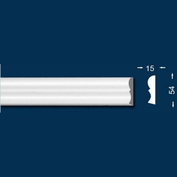 10 Meter - Zierleiste `Rotterdam 55` - Sparpack