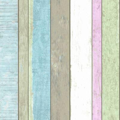 Rasch Textil Vintage Rules   138249   Vliestapete Streifen   0.53 m x 10.05 m   Bunt