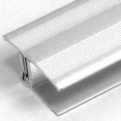 """Übergangsprofil / Übergangsschiene Laminat """"Yorkton"""", 12 - 22 mm, 35 mm breit, Alu eloxiert, Flex"""