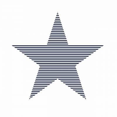 Rasch Textil Everybody Bonjour   138706   Vliestapete Muster & Motive   0.53 m x 10.05 m   Blau