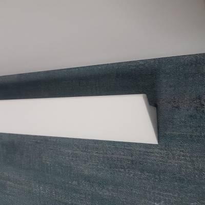 """Lichtleiste """"Alife"""" (NMC Wallstyl IL4) - für indirekte Beleuchtung - aus hochfestem Polystyrol"""