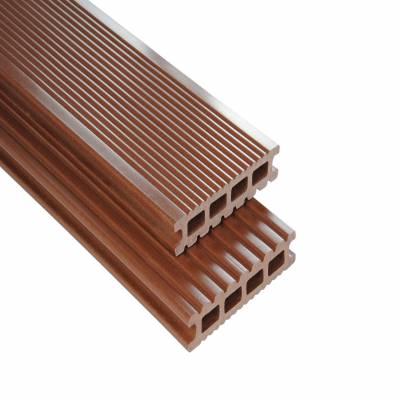 Kovalex | WPC Terrassendiele | Braun | Hohlkammer Exklusiv | 14.5 x 2.6 cm | Bodendiele