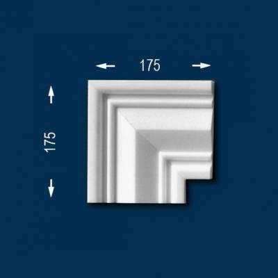 """Fassadenprofile """"Wiesemann FP19"""" - Eckstück"""