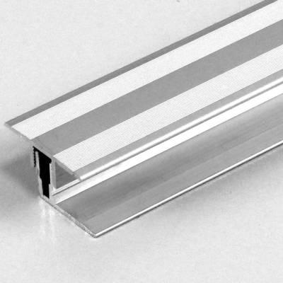 """Klick-Übergangsprofil / Übergangsschiene Laminat """"Grafton"""", H 11-15 mm, B 33.5 mm, Alu eloxiert"""