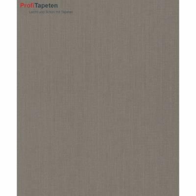 Rasch Textil Cassata | 077123 | Vliestapete Einfarbig | 0.53 m x 10.05 m | Braun