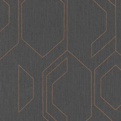 Rasch Cato | 800807 | Vliestapete 3D Optik | 0.53 m x 10.05 m | Grau