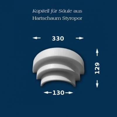 "Säulenkapitell ""Wiesemann SK1-3"" - unbeschichtet"