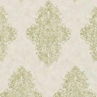 A.S. Creation Luxury Classics | 351102 | Vliestapete Vintage | 0.53 m x 10.05 m | Grün