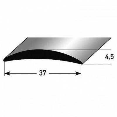 """Übergangsprofil """"Brügge"""" / Übergangsschiene, 37 mm, Typ: 07 (Aluminium eloxiert):"""