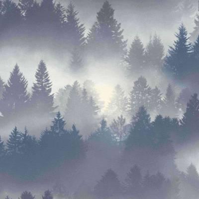 Rasch b.b home passion VI | 860832 | Vliestapete Muster & Motive | 0.53 m x 10.05 m | Blau