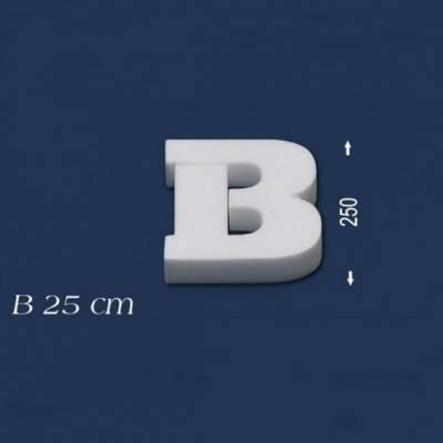 """Buchstabe """"B"""" - Größe 25 cm"""