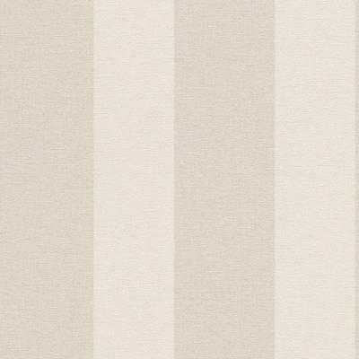 Rasch Florentine | 448771 | Vliestapete Streifen | 0.53 m x 10.05 m | Beige