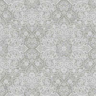 Rasch Kerala   551501   Vliestapete Blumenoptik   0.53 m x 10.05 m   Grau