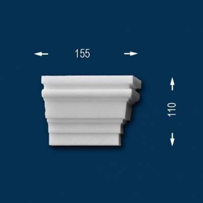 """Fassadenprofile """"Wiesemann FP12"""" - Endstück rechts"""