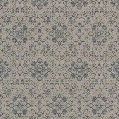 Rasch Textil Palau | 228877 | Vliestapete Muster & Motive | 0.53 m x 10.05 m | Blau