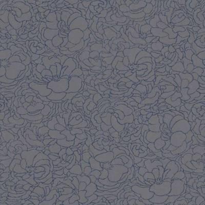 Erismann Darling | 648008 | Vliestapete Vintage Tapete | 0.53 m x 10.05 m | Blau