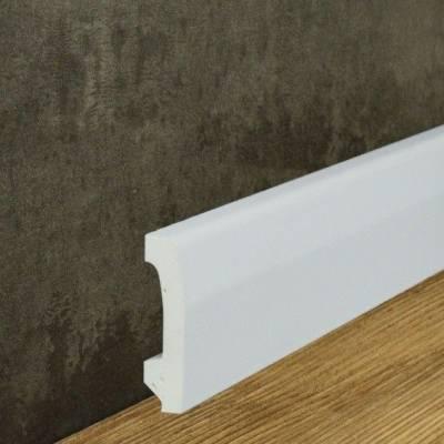 Fußleiste | Sockelleiste Sovereto 70 x 17 mm | stoßfest und wasserfest
