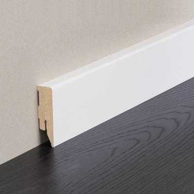 Sockelleiste / Fußleiste / Bodenleiste Cremona-1 (71927) - Weiß