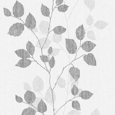 A.S. Creation Hapy Spring | 347614 | Vliestapete Blumen | 0.53 m x 10.05 m | Grau