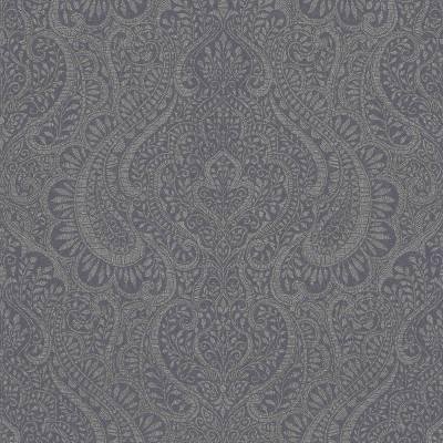 Rasch Textil Jaipur | 227863 | Vliestapete Muster & Motive | 0.53 m x 10.05 m | Grau