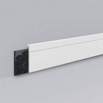"""NMC WALLSTYL CF2 Fliesensockel Abdeckleiste """"Saragossa"""" bis 98 mm stoß- & wasserfest, Kunststoff"""
