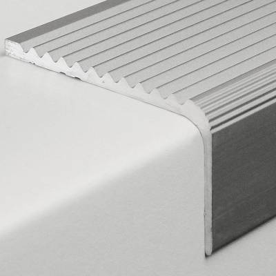 "Treppenkante ""Amelia"" / Winkelprofil 23 mm x 40 mm Aluminium eloxiert"