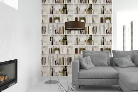 3D Tapete Bücherregal kaufen