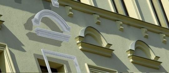 Fassade Giebel