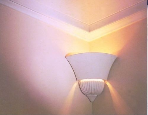 Gips Lampe Stuck