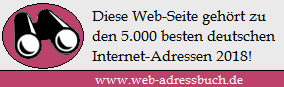 Auszeichnung Webadressbuch