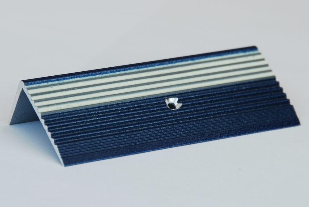 Treppenkante Alu Aluminium Profil Blau