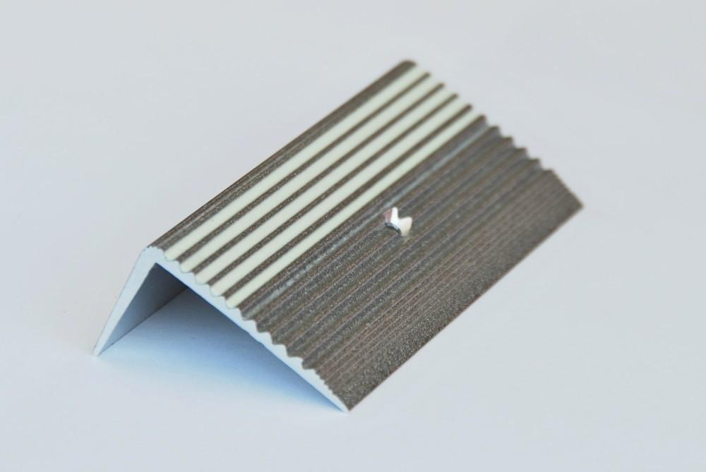 Treppenkante Alu Aluminium Profil Silber Grau
