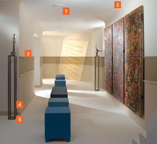 anwendungsbeispiele f r zierleisten u wandleisten. Black Bedroom Furniture Sets. Home Design Ideas