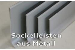 Sockelleisten aus Metall