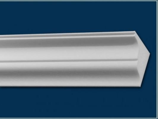 Vollflächige Vorhangleiste aus Styropor